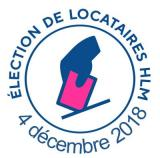 Election asso locataires 4 décembre 2018